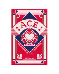Ace French Playing Cards Bridge Red