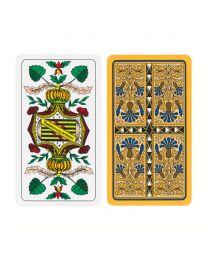 Altenburger Spielkarten Skat sächsisches Bild Kornblume