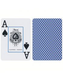 Bee Playing Cards Jumbo Index Blue