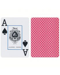 Bee Playing Cards Jumbo Index Red