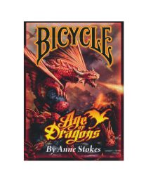 Bicycle Age of Dragons Playing Cards by Anne Stokes