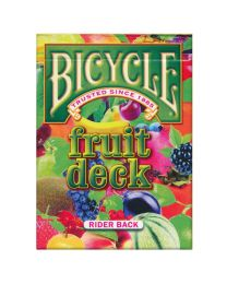 Bicycle Fruit Deck Rider Back