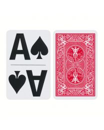 Bicycle Large Print Playing Cards Red