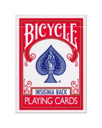 Bicycle Insignia Back Deck Red