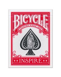 Bicycle Inspire Playing Cards Red