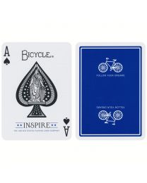Bicycle Inspire Playing Cards Blue