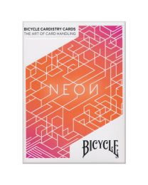 Bicycle Neon Orange Bump Playing Cards