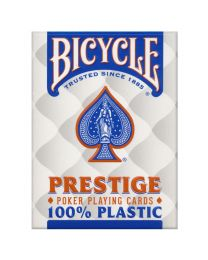 Bicycle Prestige Poker Playing Cards Plastic Blue