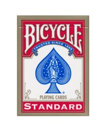 Bicycle 808 Gold USA Playing Cards Red