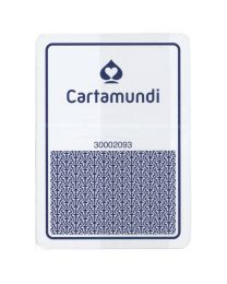Cartamundi Casino Cards Plastic Blue
