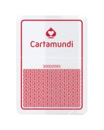 Cartamundi Casino Cards Plastic Red