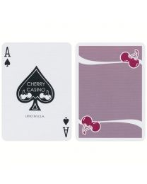 Cherry Casino Flamingo Quartz Pink Playing Cards