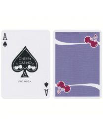 Cherry Casino Fremonts Desert Inn Purple Playing Cards