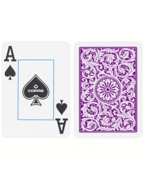 COPAG Plastic Playing Cards Double Deck Purple & Grey