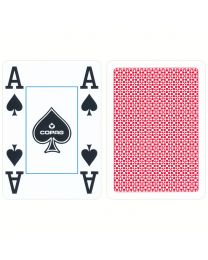 COPAG 4 Corner Jumbo Index Playing Cards Red