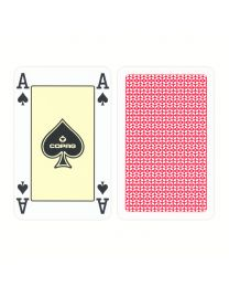 COPAG Bridge Cards 4 Corner Index Red