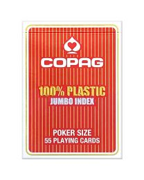 COPAG Playing Cards Jumbo Face Red