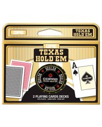 COPAG Texas Hold'em 2 Playing Cards Decks