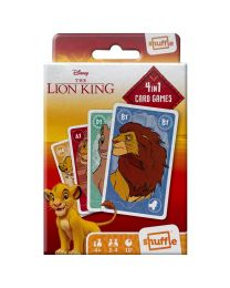 Disney The Lion King 4 in 1 Card Games