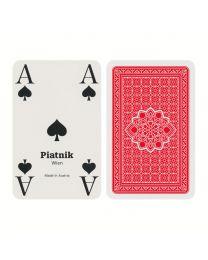 Doppelkopf Karten mit extragroßen Eckzeichen Piatnik