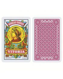 Fournier 40 Cards Spanish Deck 100% Plastic