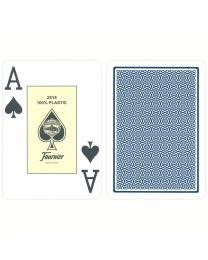 Plastic Cards Fournier Jumbo Blue