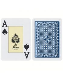 Fournier Poker 818 Jumbo Index Premium Cards Blue