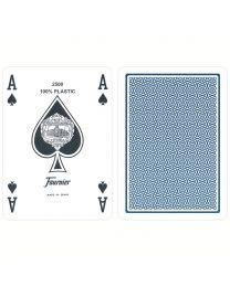 Plastic Poker Cards Fournier Standard Blue