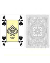 Modiano Poker Cards 4 Jumbo Index Gray