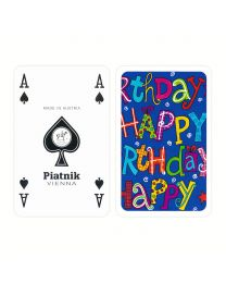 Happy Birthday Playing Cards Piatnik