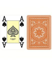 Modiano Poker Cards 4 Jumbo Index Brown