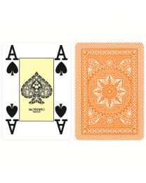 Modiano Poker Cards 4 Jumbo Index Orange