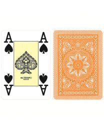 Modiano Poker Cards 4 Jumbo Index Orange