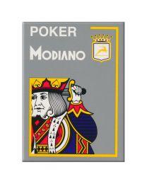 Modiano Poker Cards 4 Jumbo Index Gray