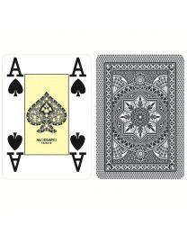 Modiano Poker Cards 4 Jumbo Index Black
