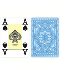Modiano Poker Cards 4 Jumbo Index Light Blue