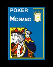 Modiano Poker Cards 4 Jumbo Index Light Blue
