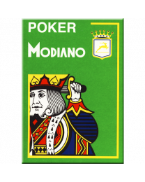 Modiano Poker Cards 4 Jumbo Index Light Green