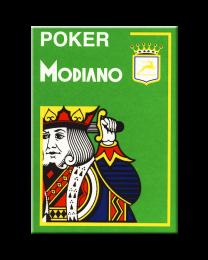 Modiano Poker Cards 4 Jumbo Index Light Green