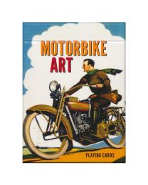 Motorbike Art Playing Cards Piatnik