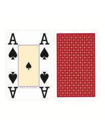 Piatnik 4 Index OPTI Bridge Cards Red