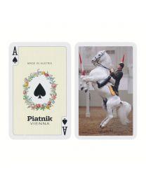 Piatnik Bridge Size Playing Cards Lipizzaner