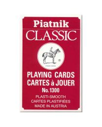 Piatnik Classic Playing Cards Red