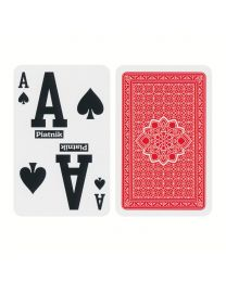 Piatnik Superb Bridge Size Playing Cards Giant Index Red