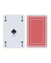 Piquet Playing Cards French-Suit Red
