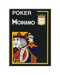 Modiano Poker Cards 4 Jumbo Index Black