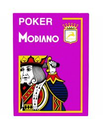 Modiano Poker Cards 4 Jumbo Index Purple
