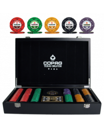 Poker Chip Set 300 Copag Texas Hold'em