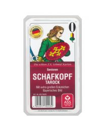 Seniors Schafkopf Tarock Playing Cards Bavarian Pattern ASS Altenburger