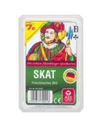 Skat French Pattern 32 Cards in a plastic case by ASS Altenburger